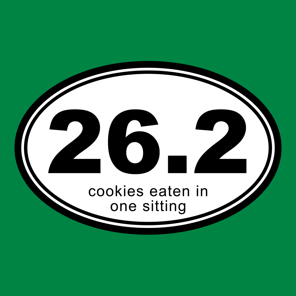 26.2 Cookies Eaten In One Sitting