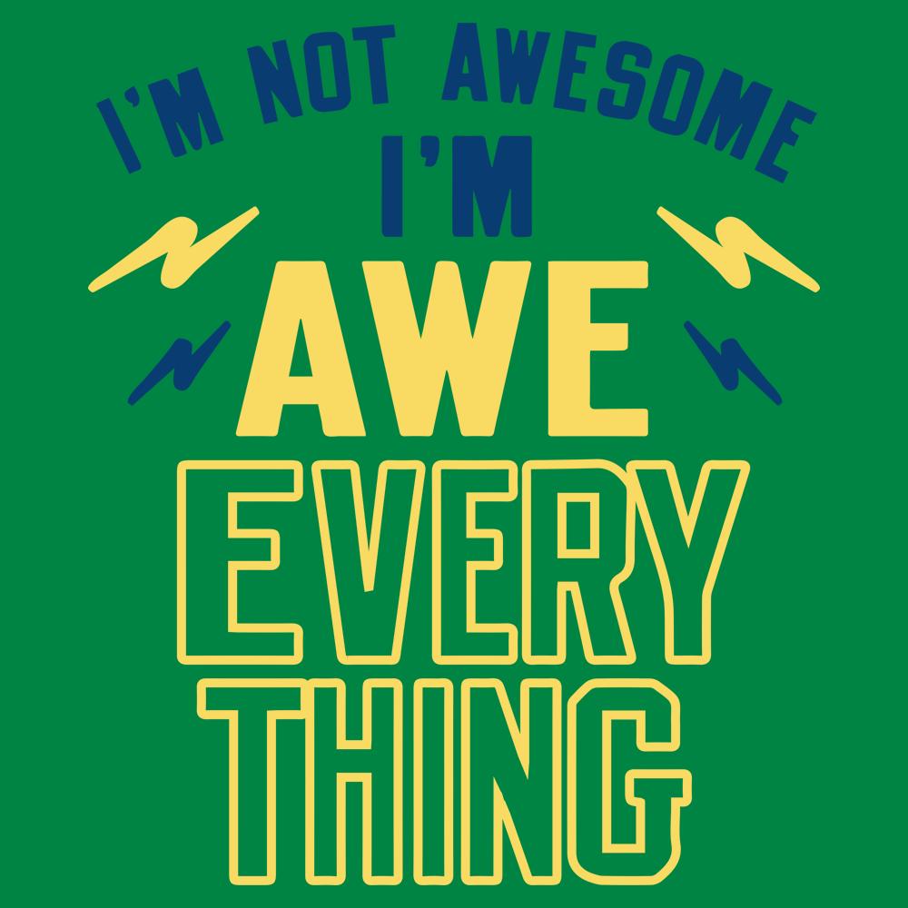 I'm Not Awesome, I'm Awe-Everything