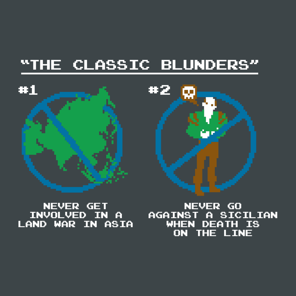 The Classic Blunders