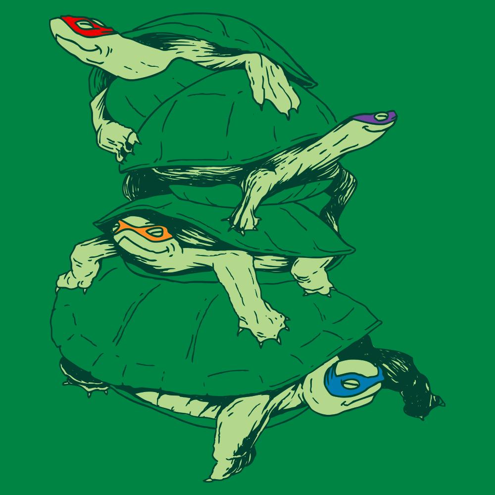 Masked Turtles