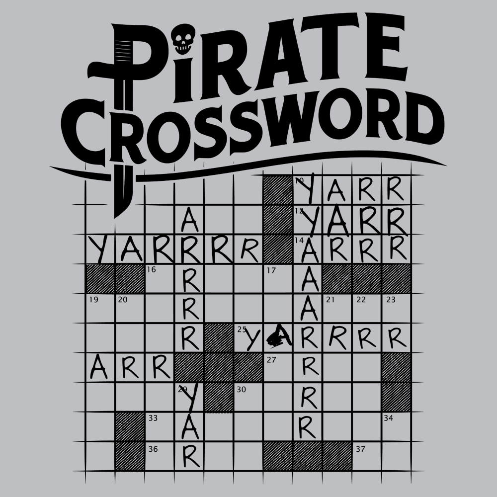 Pirate Crossword