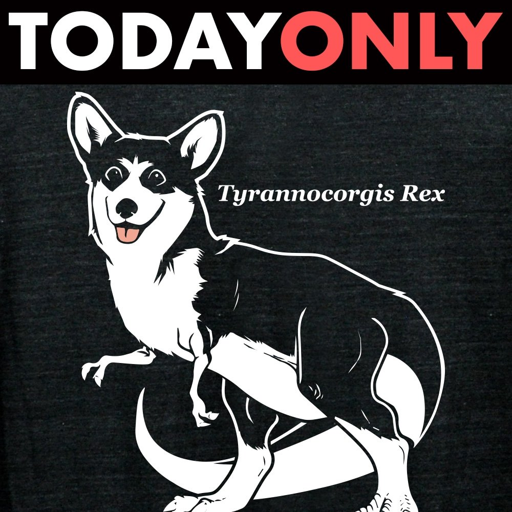 Tyrannocorgis Rex Limited Edition Tri-Blend