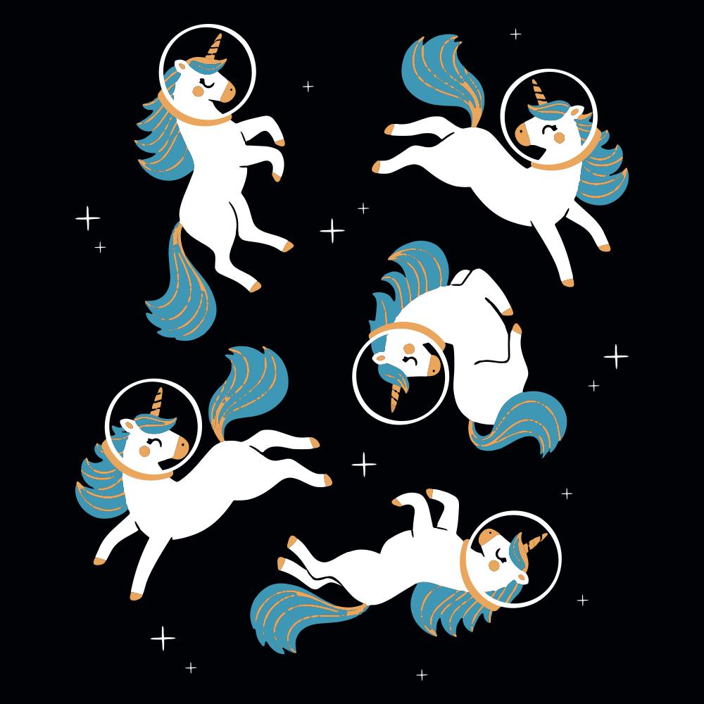 Unicorns In Space