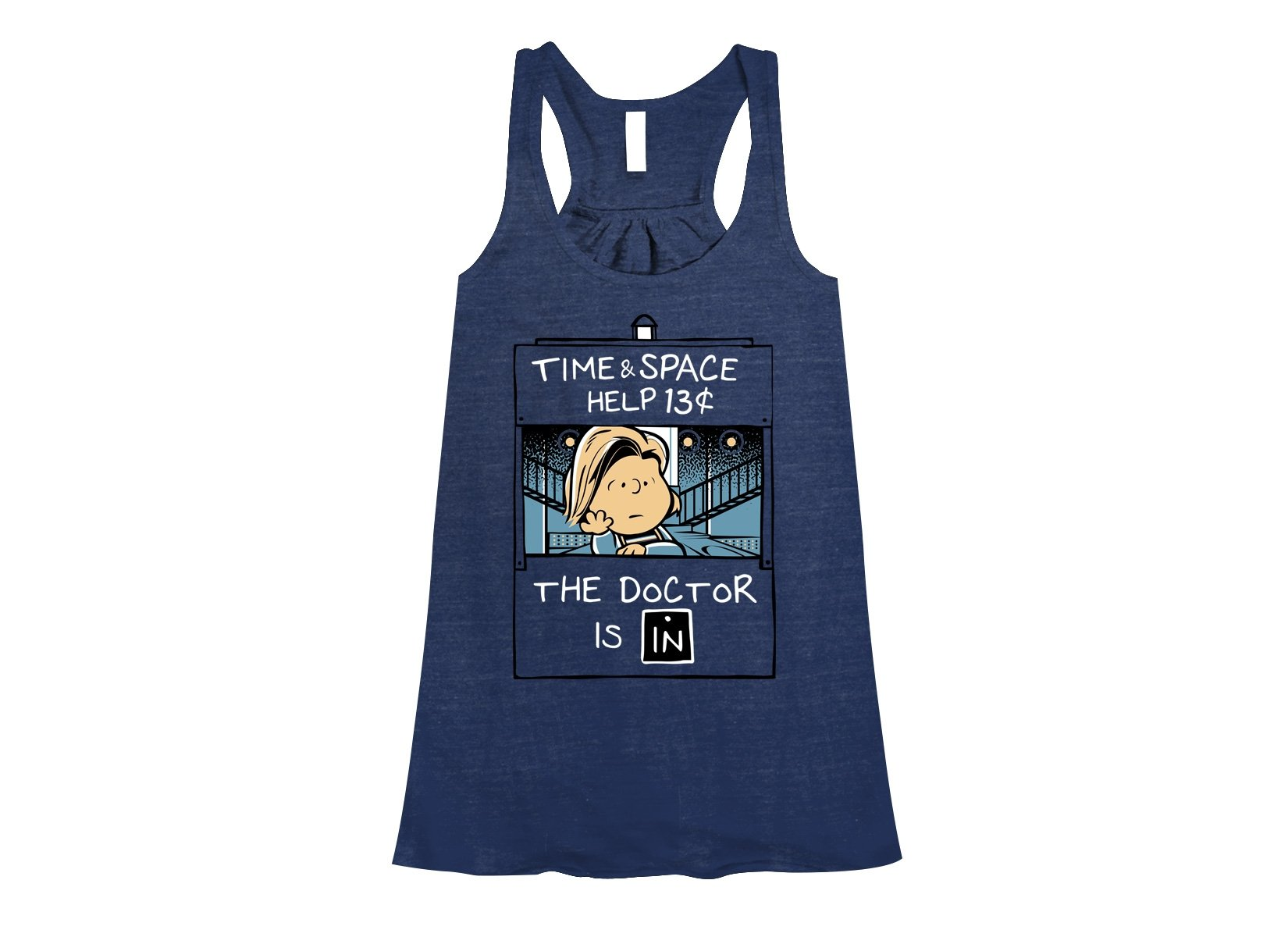 13th Doctor Is In on Womens Tanks T-Shirt