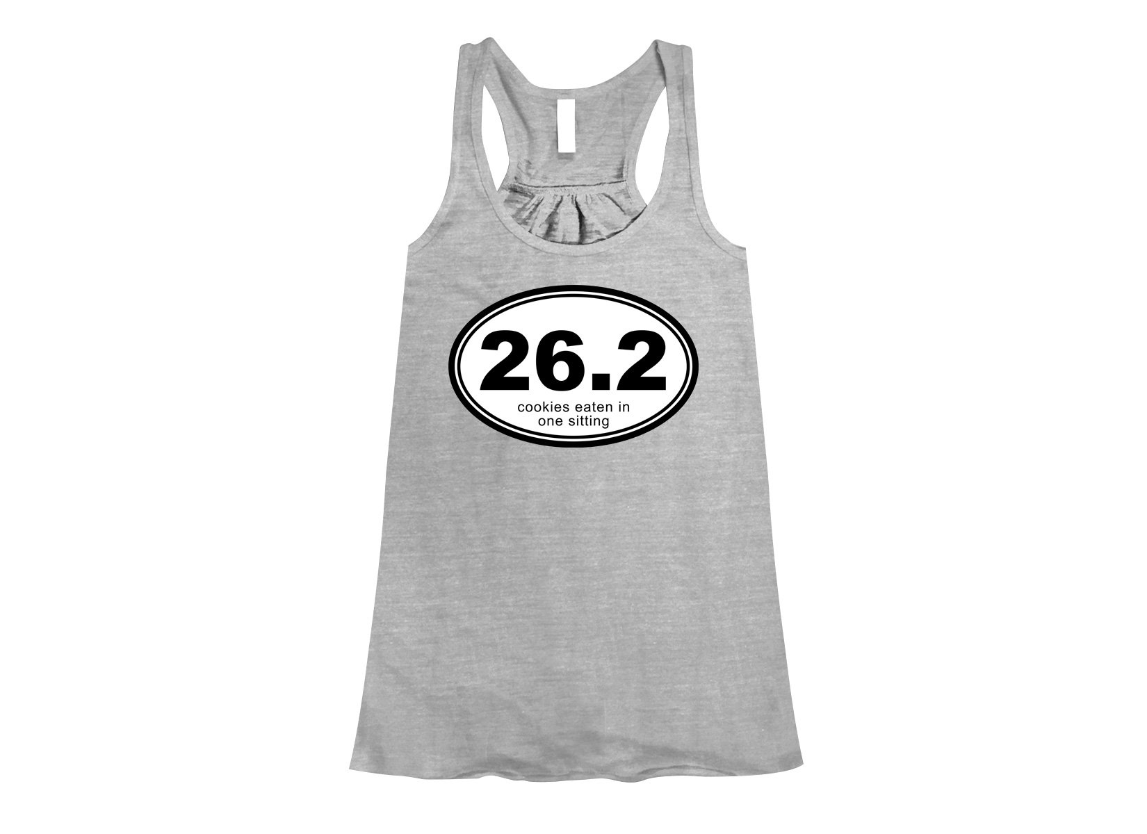 26.2 Cookies Eaten In One Sitting on Womens Tanks T-Shirt