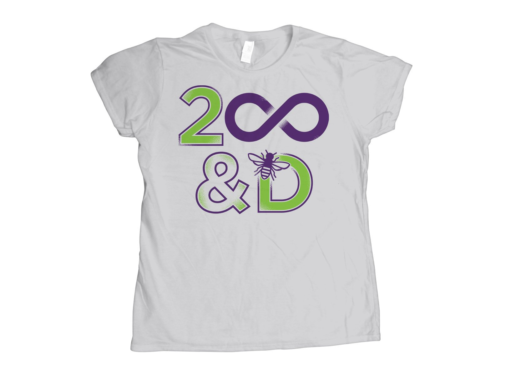 2 Infinity And B On D on Womens T-Shirt