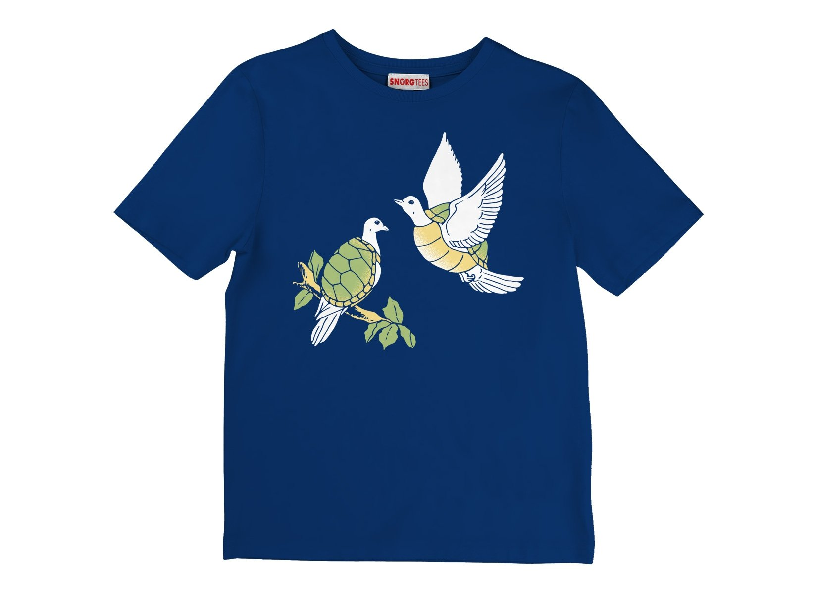 Two Turtle Doves on Kids T-Shirt