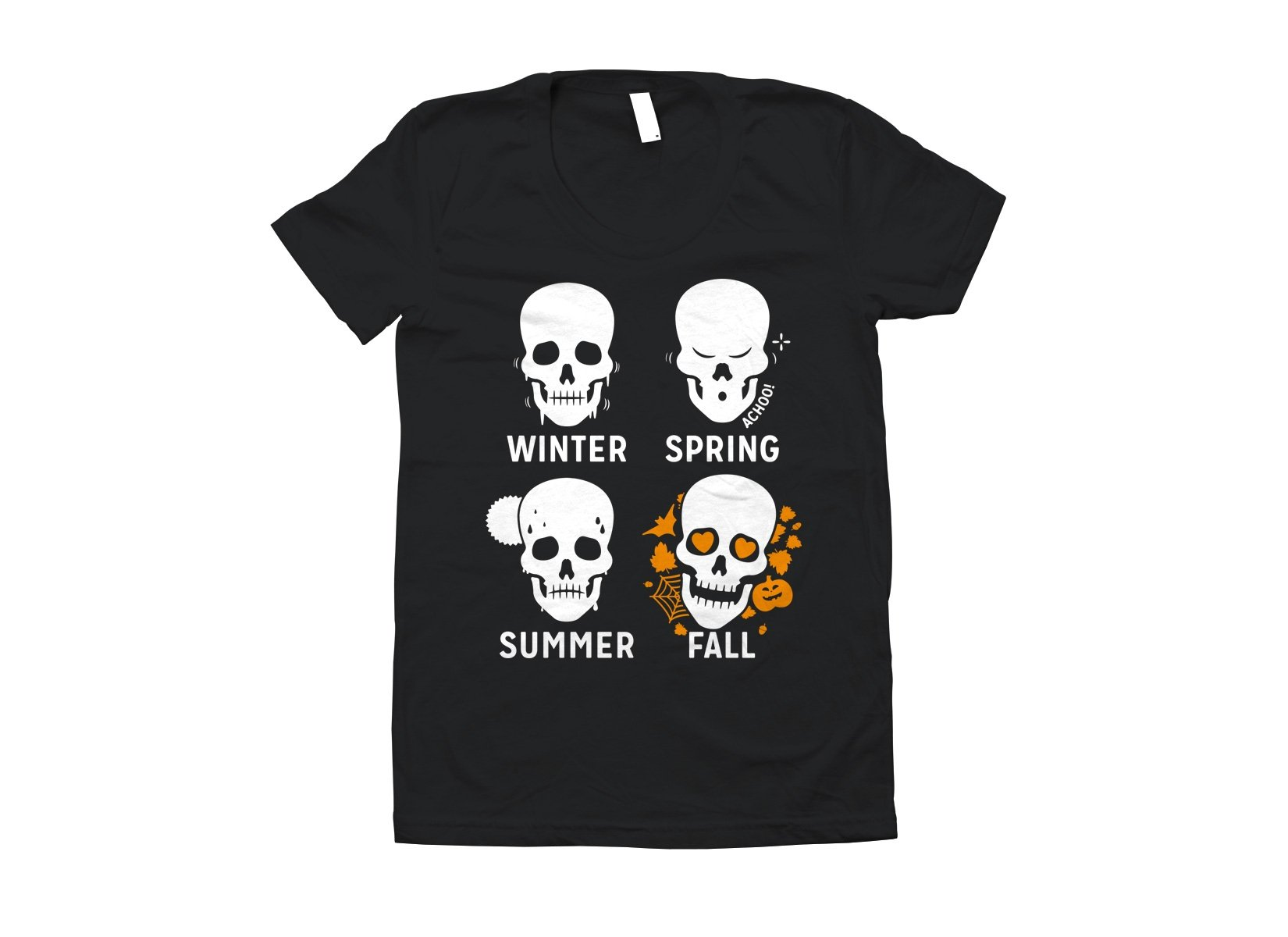 Four Seasons on Juniors T-Shirt