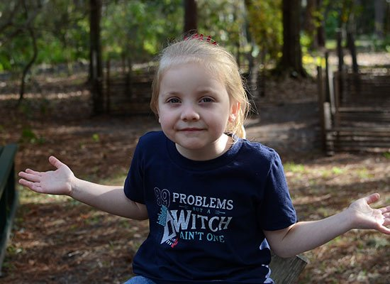 99 Problems But A Witch Ain't One on Kids T-Shirt