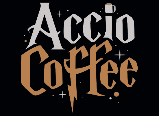 Accio Coffee on Kids T-Shirt