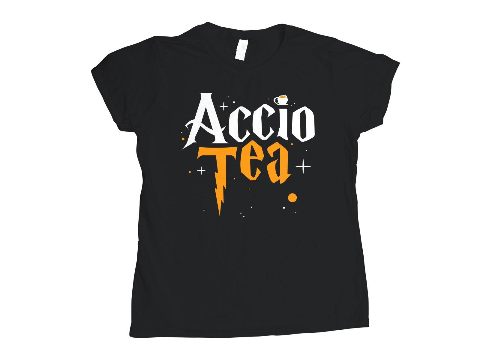 Accio Tea on Womens T-Shirt