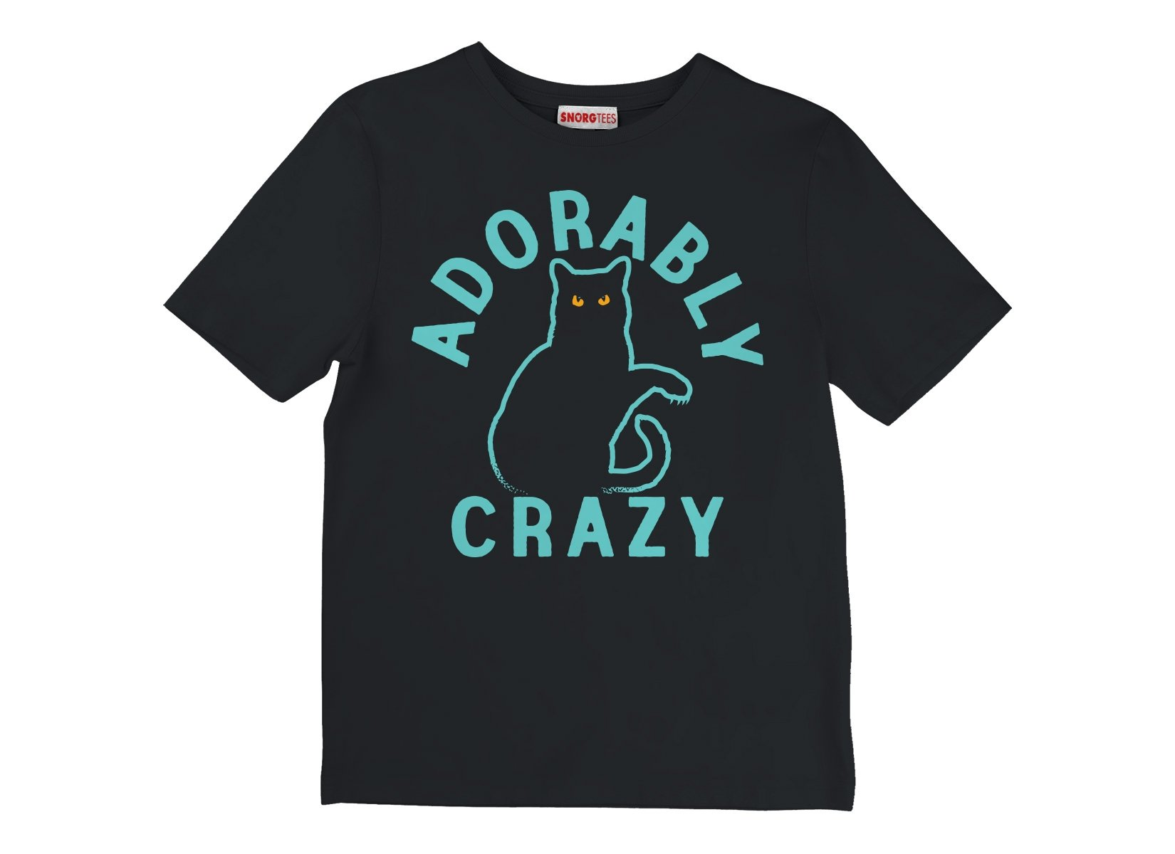 Adorably Crazy on Kids T-Shirt