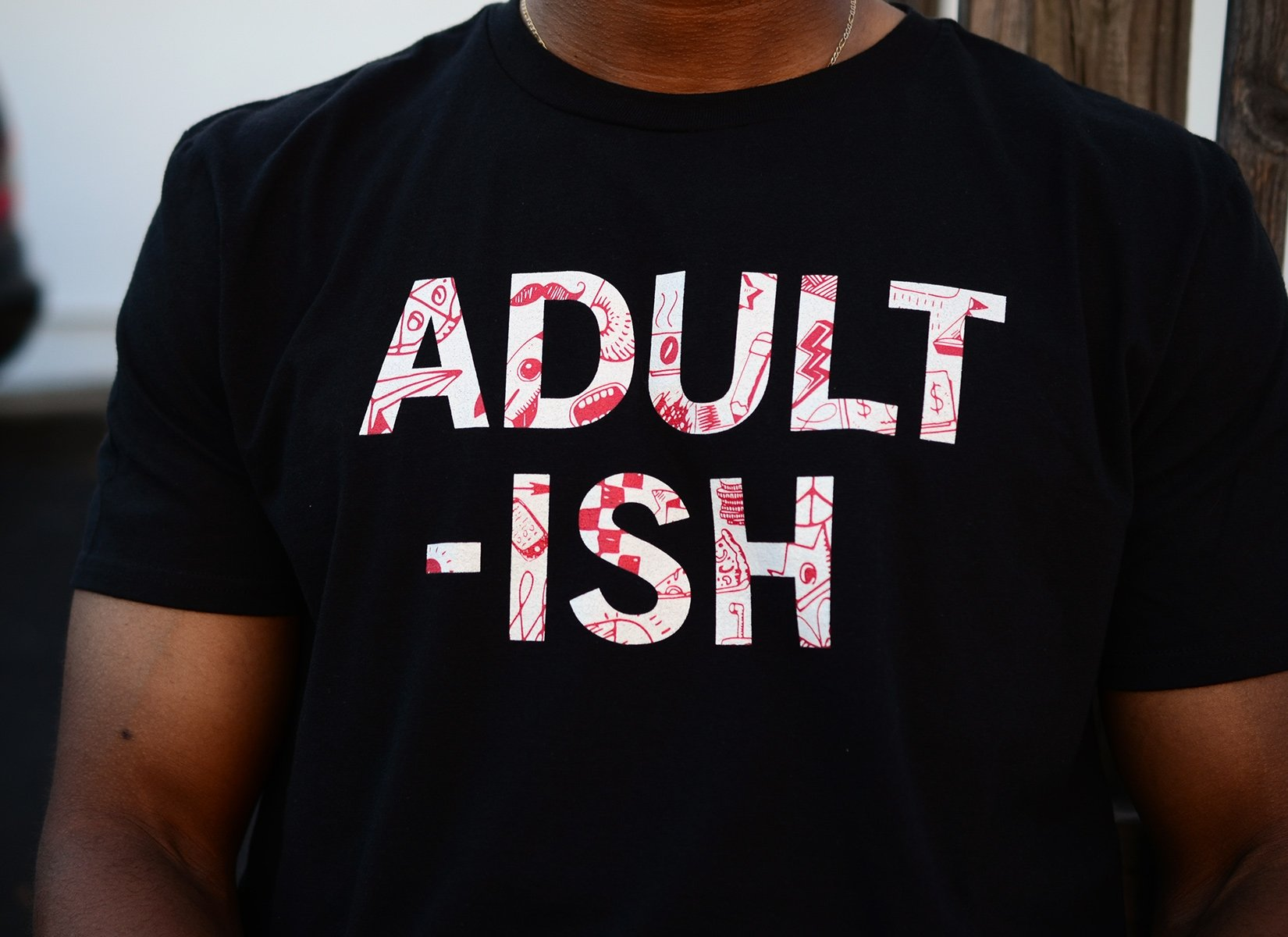 Adult-ish on Mens T-Shirt