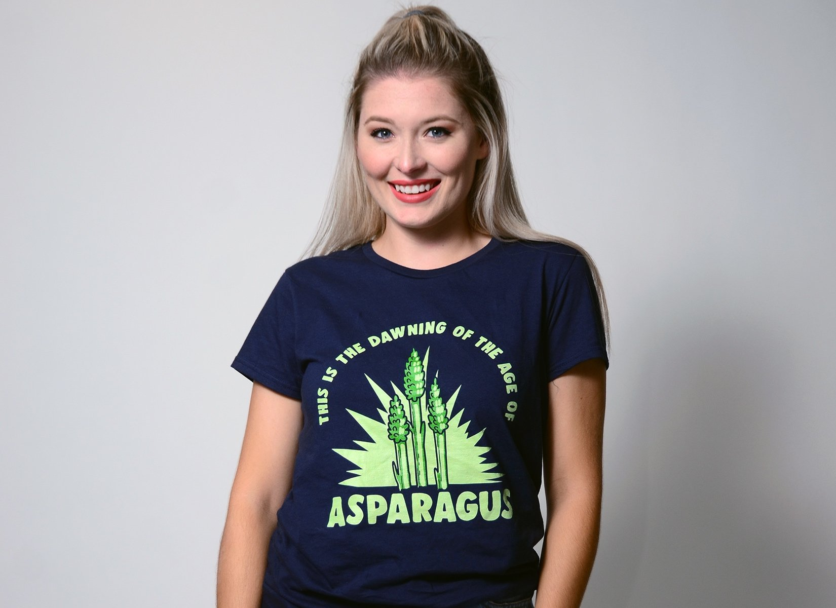 Age Of Asparagus on Womens T-Shirt