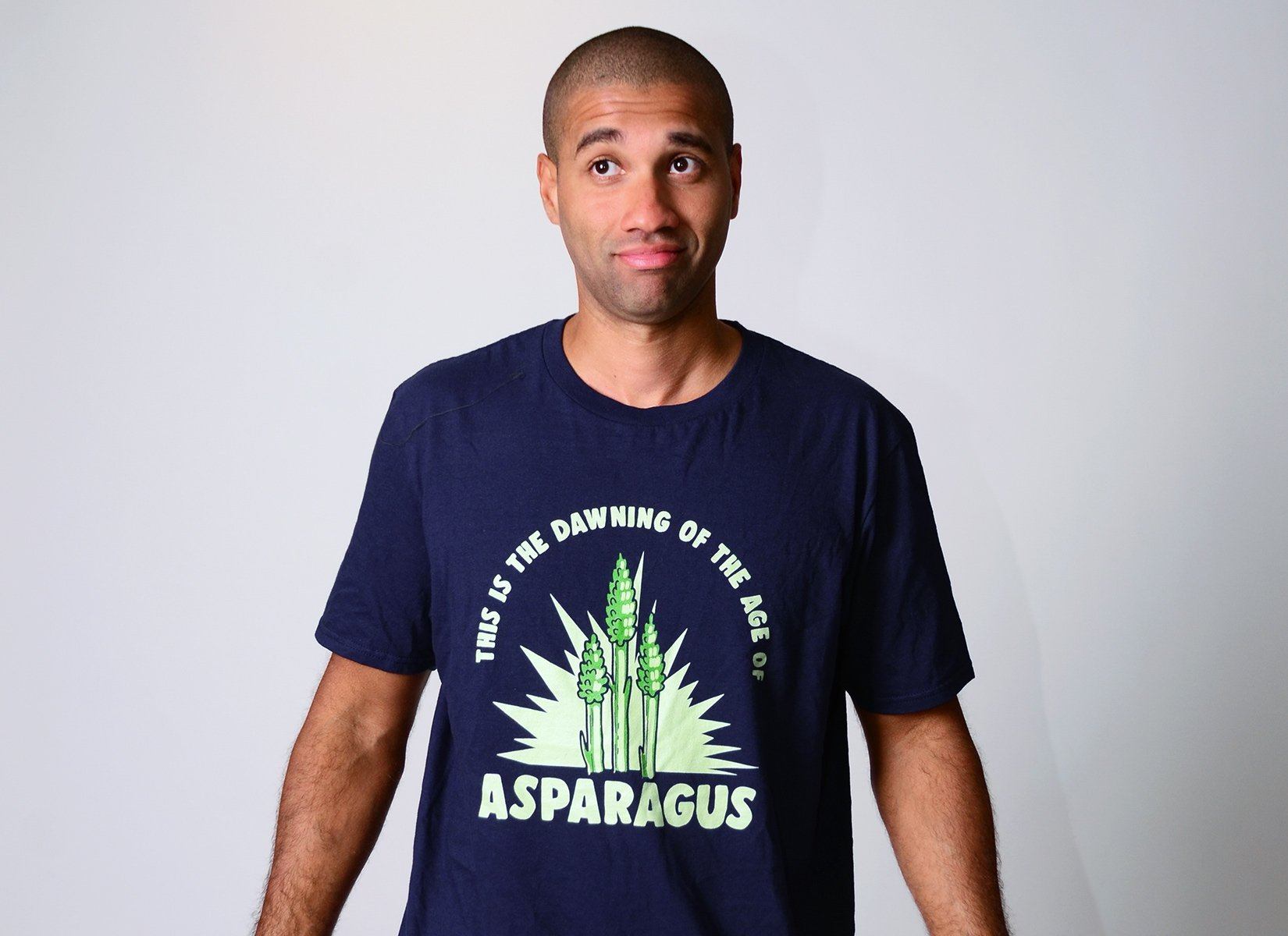 Age Of Asparagus on Mens T-Shirt