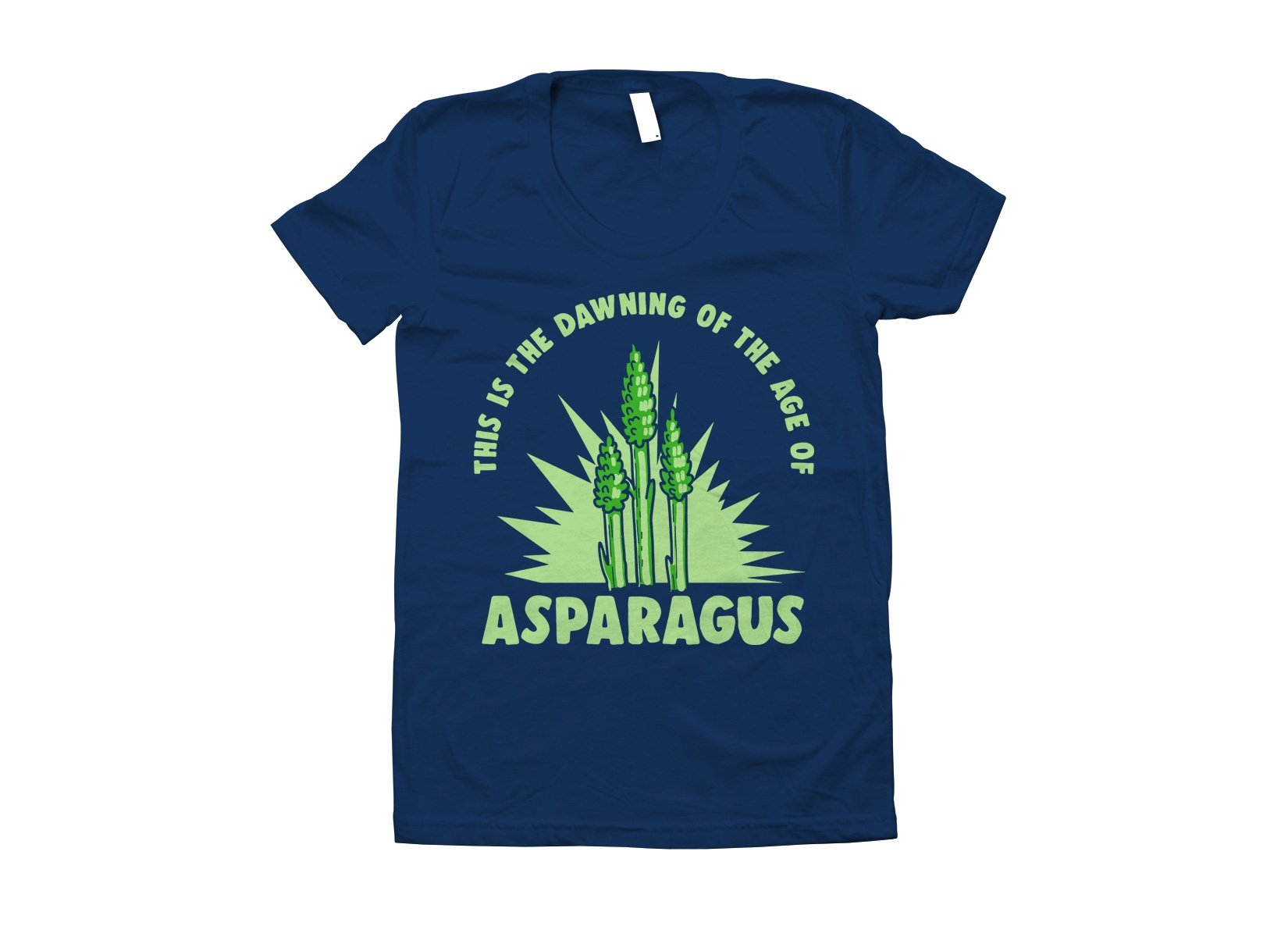 Age Of Asparagus on Juniors T-Shirt