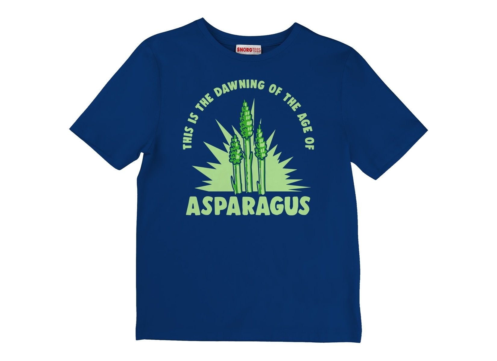 Age Of Asparagus on Kids T-Shirt
