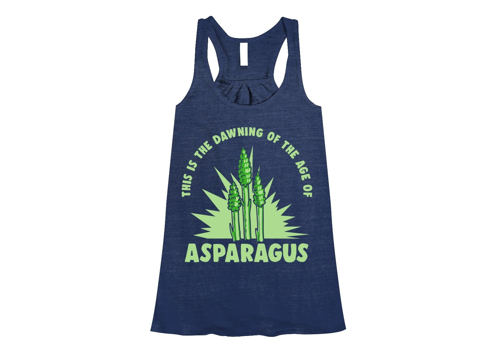 Age Of Asparagus on Womens Tanks T-Shirt