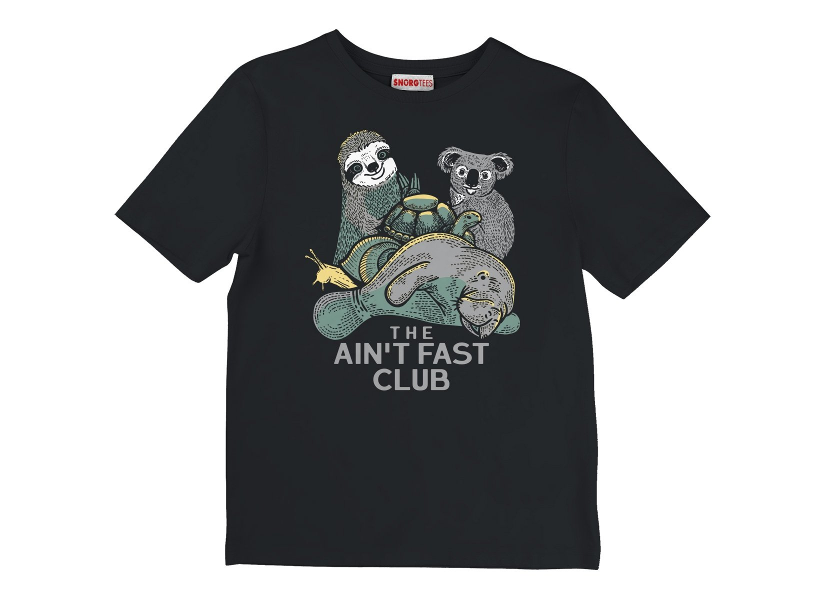The Ain't Fast Club on Kids T-Shirt