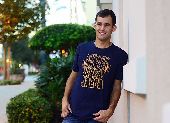 Jibba Jabba on Mens T-Shirt