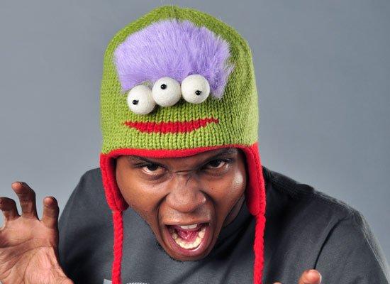 Al The Alien Hat on Mens Hats