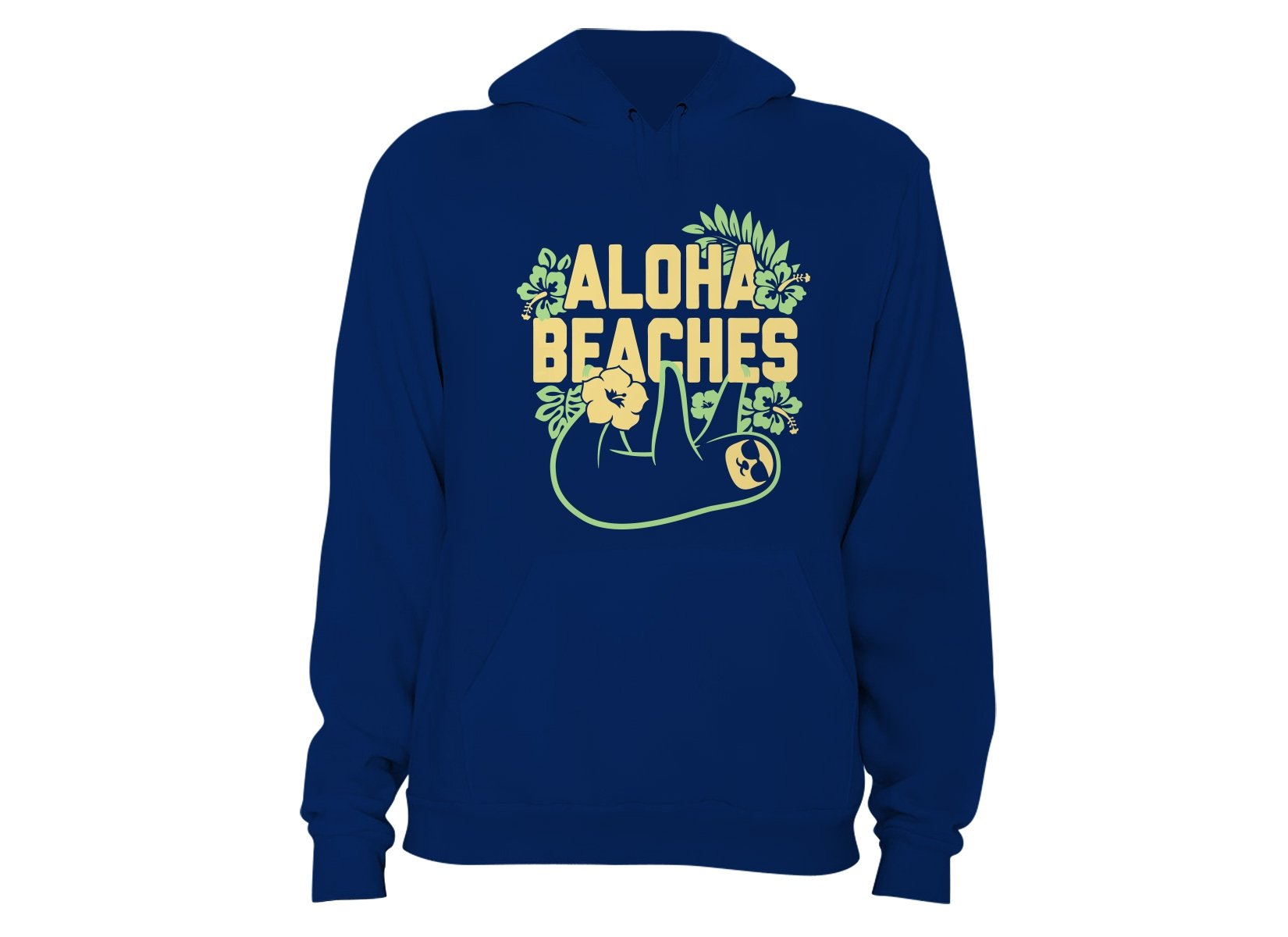 Aloha Beaches on Hoodie