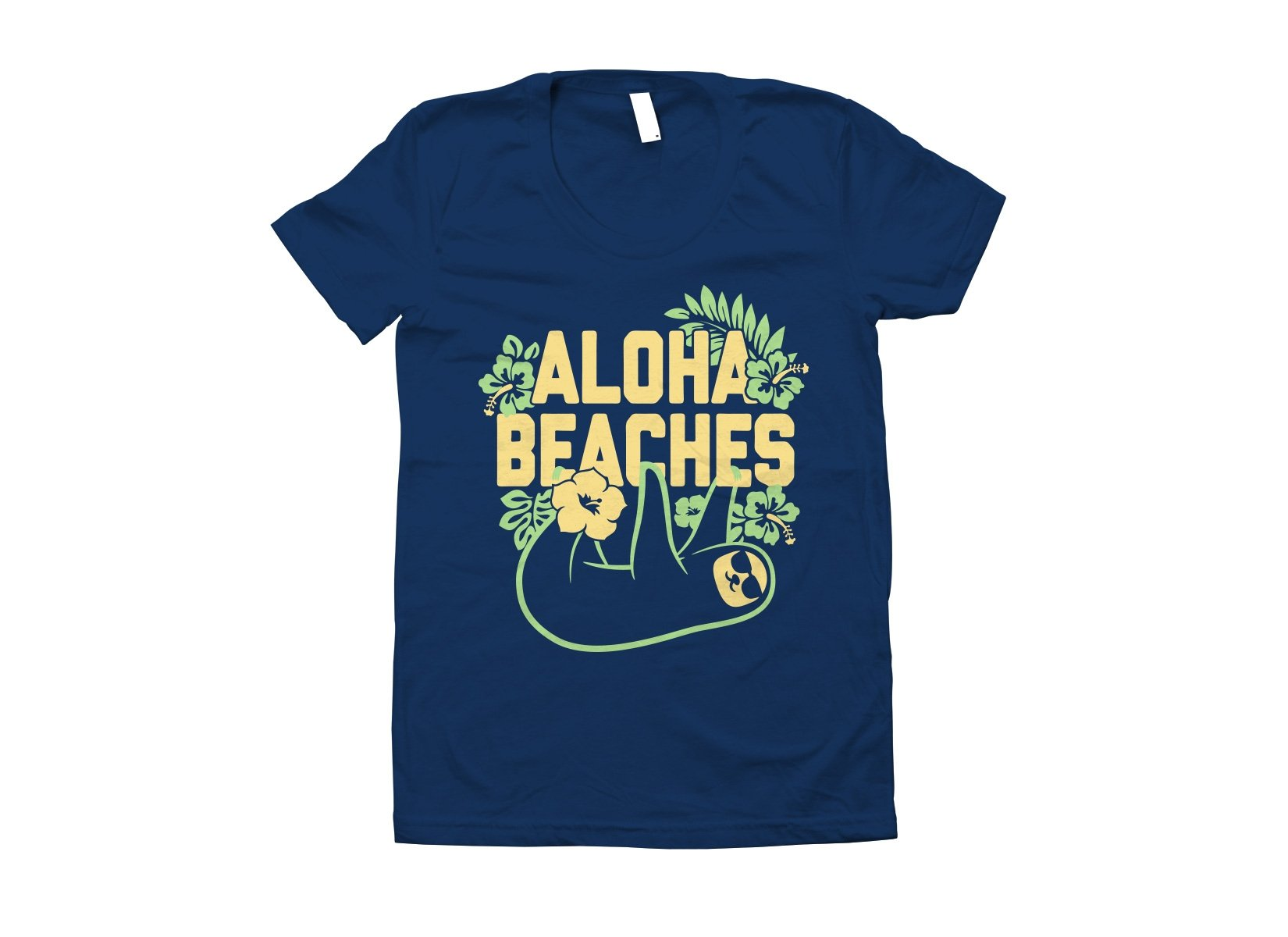 Aloha Beaches on Juniors T-Shirt