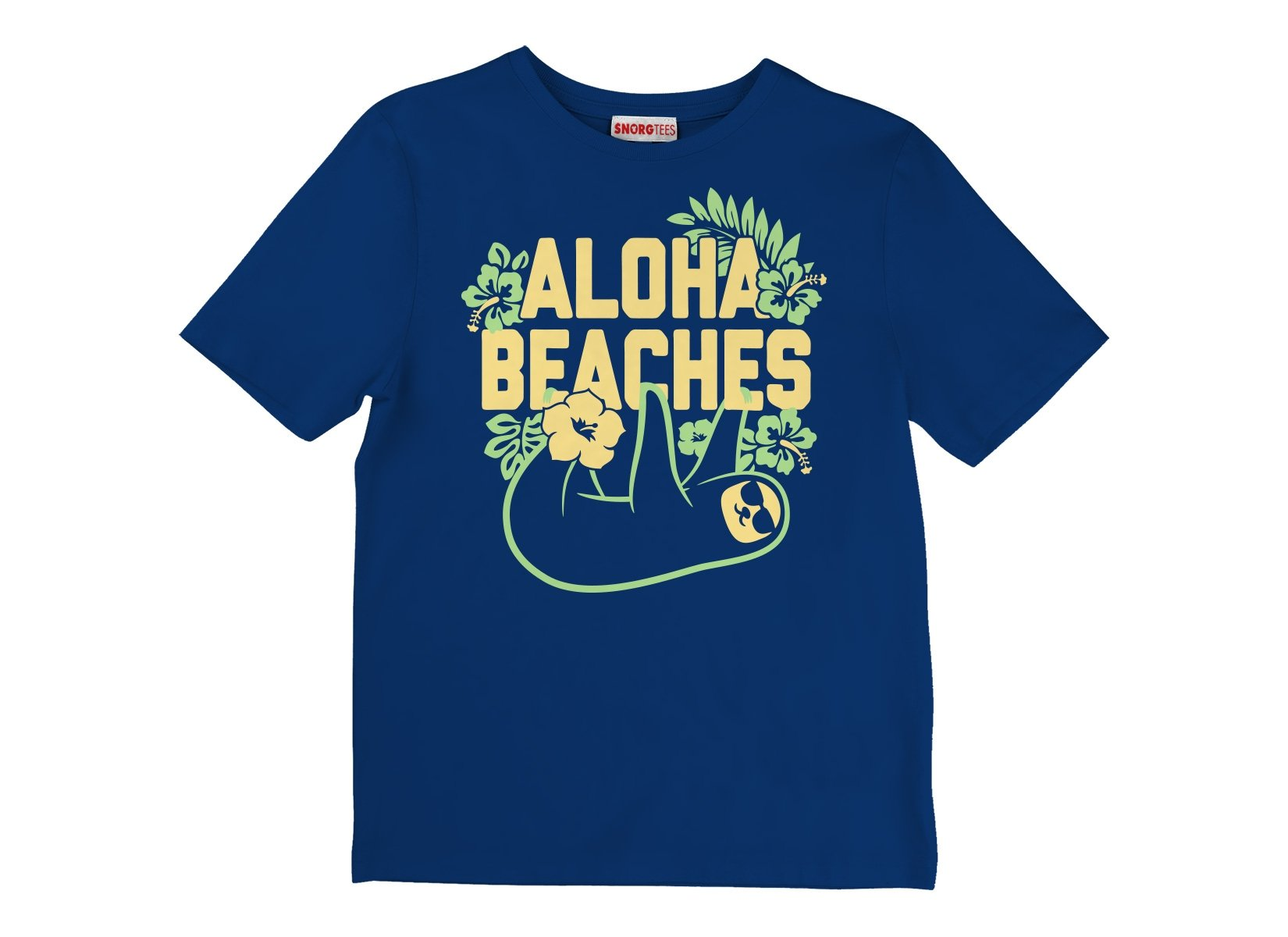 Aloha Beaches on Kids T-Shirt