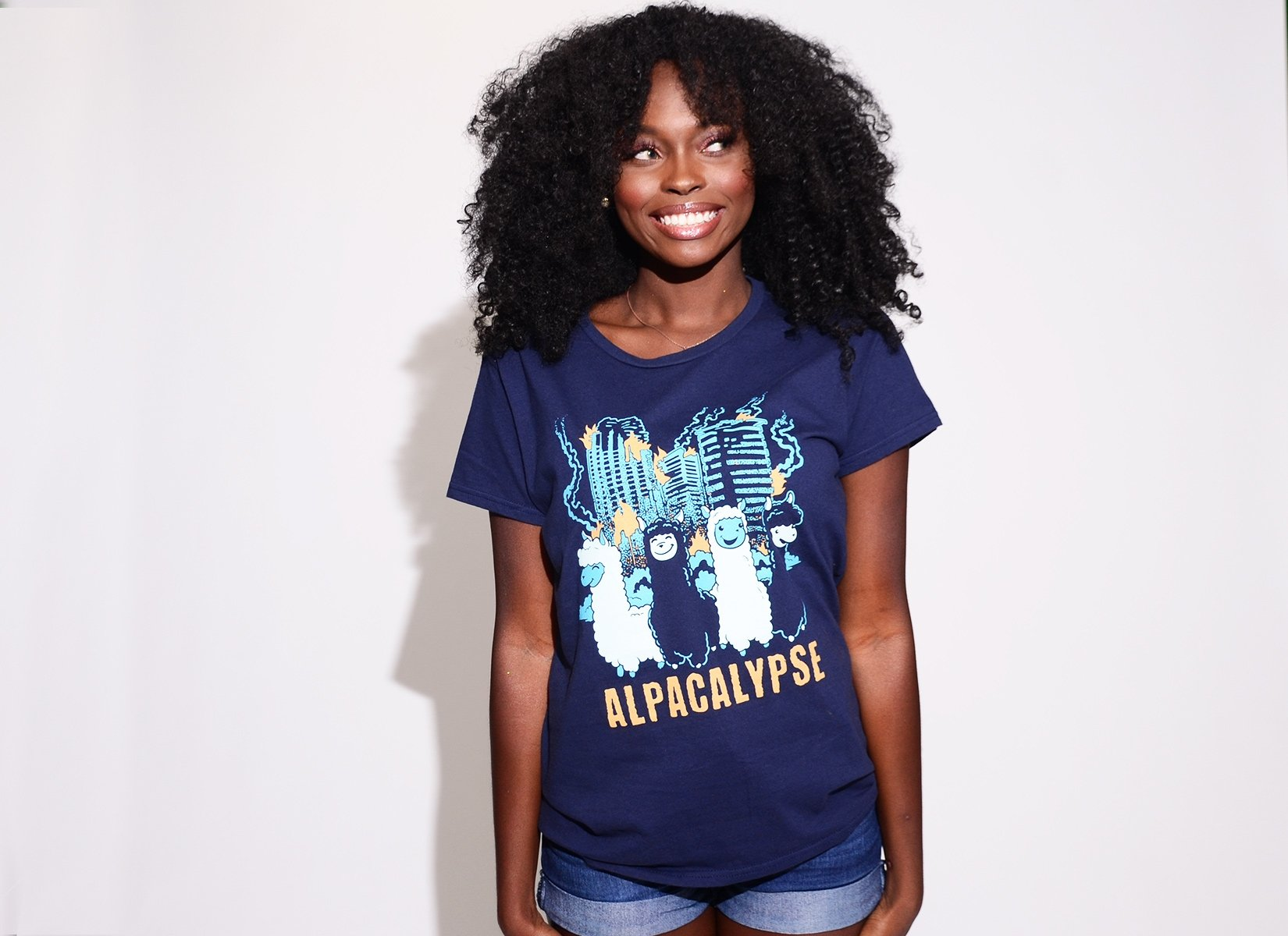 Alpacalypse on Womens T-Shirt