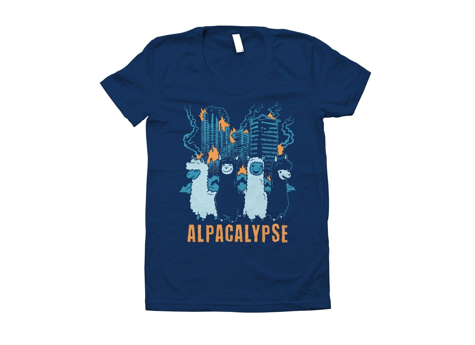 Alpacalypse on Juniors T-Shirt