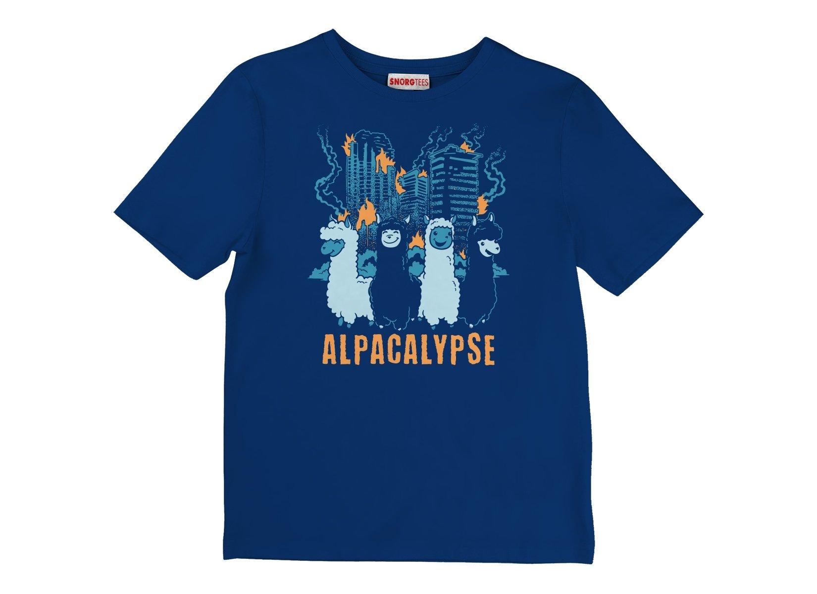 Alpacalypse on Kids T-Shirt