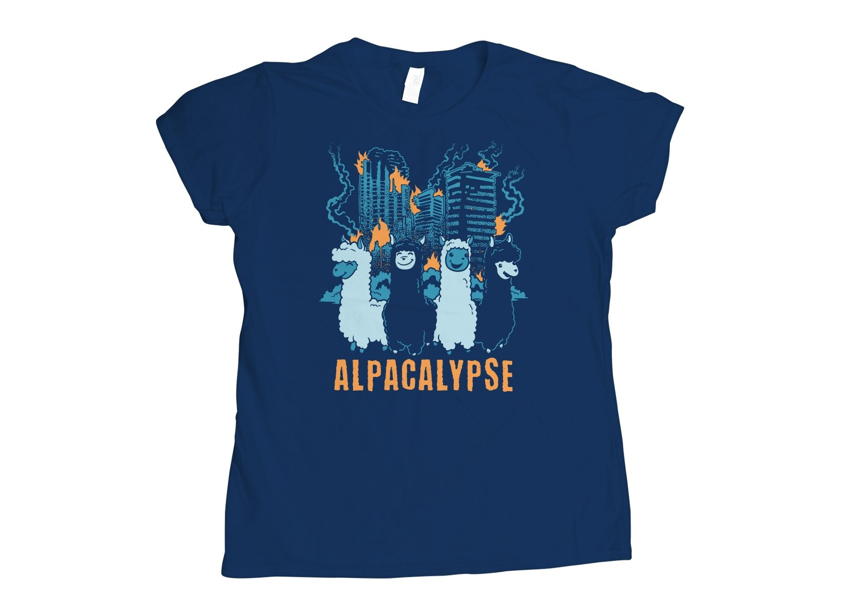 Alpacalypse on Womens T-Shirt