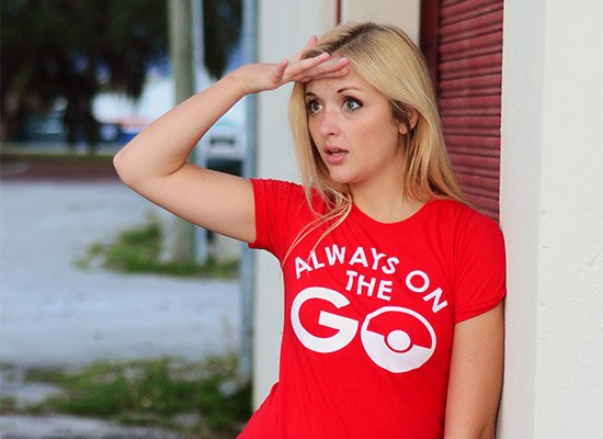 Always On The Go on Juniors T-Shirt