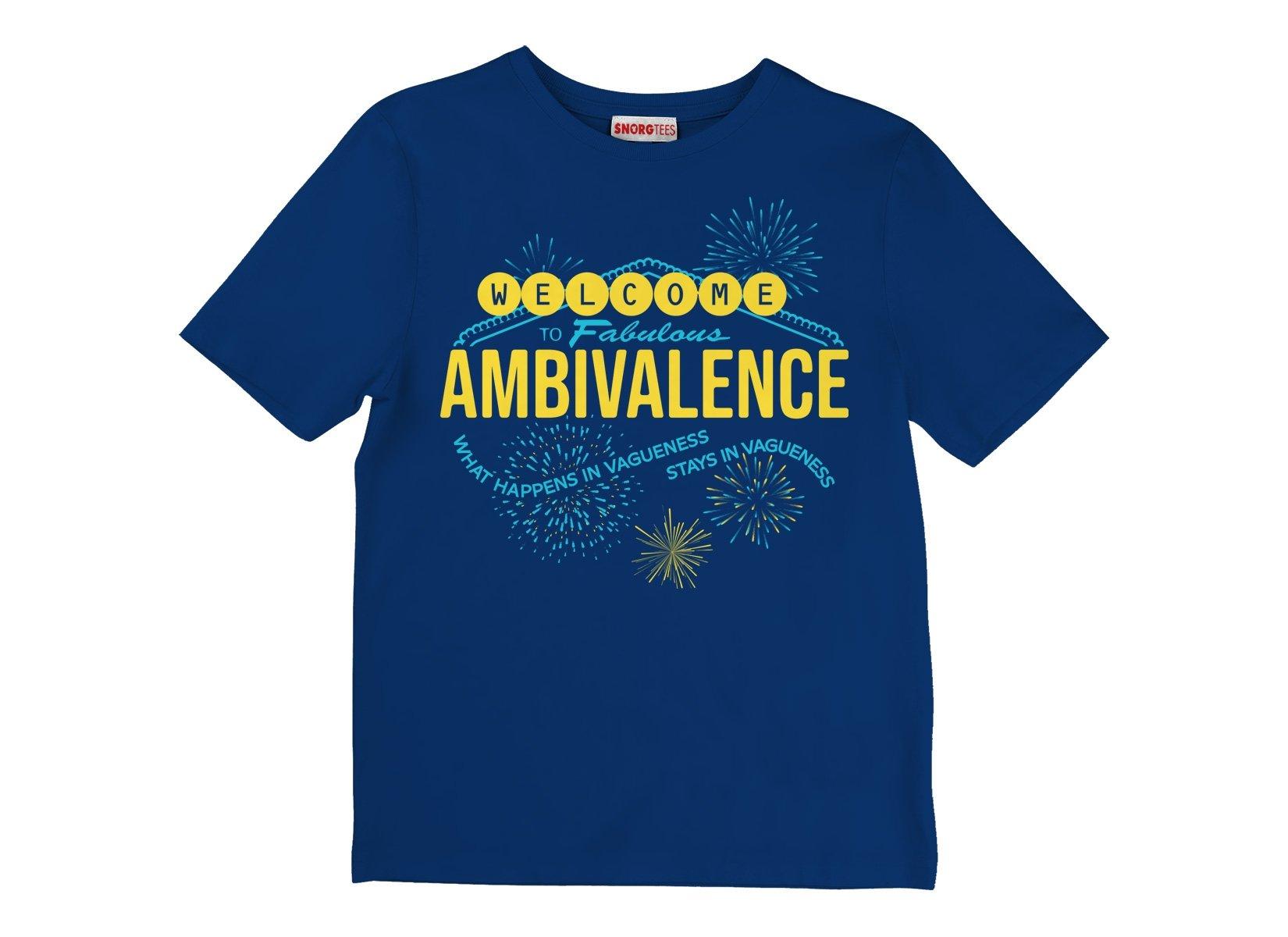 Welcome To Fabulous Ambivalence on Kids T-Shirt