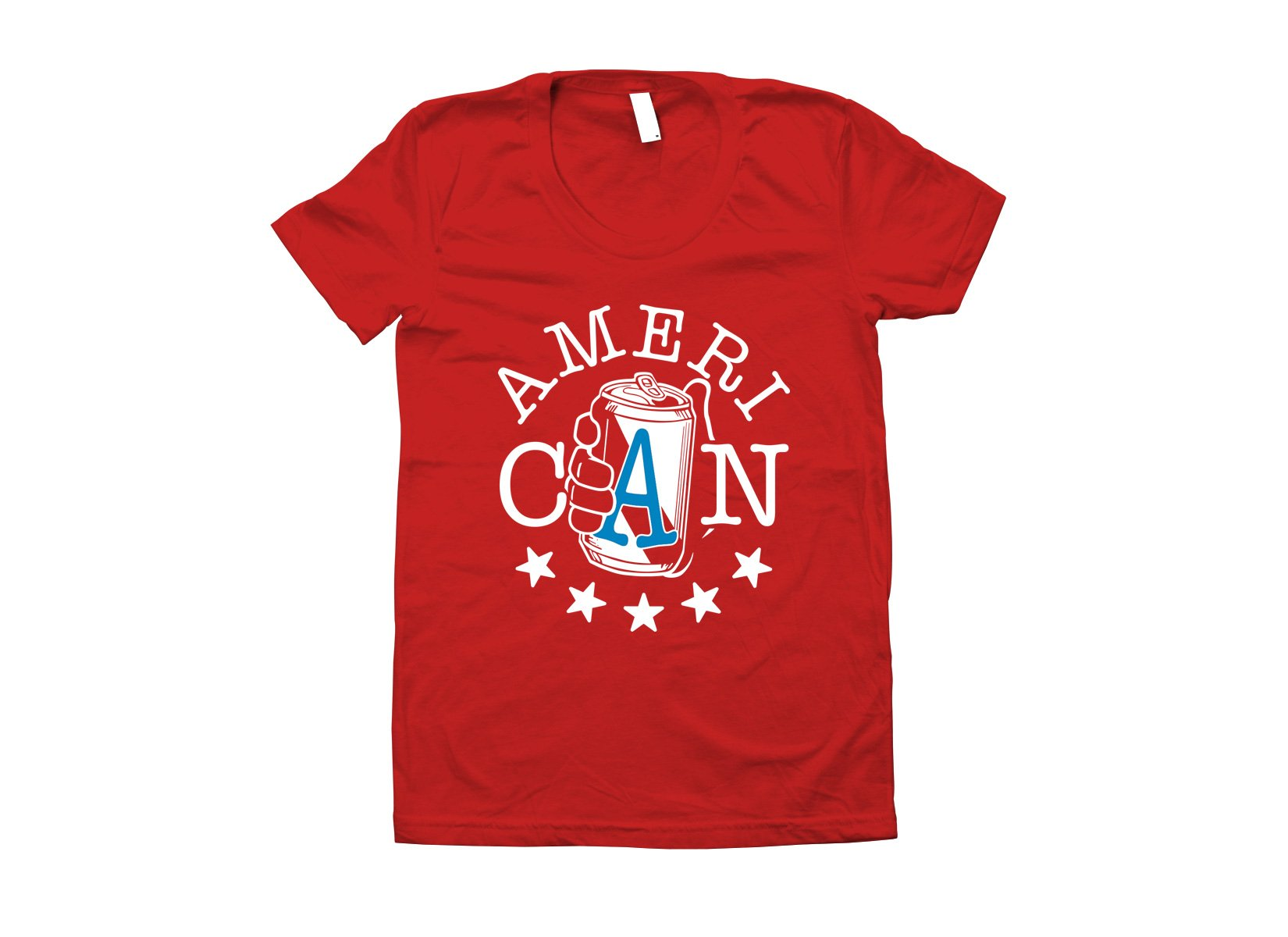 AmeriCAN on Juniors T-Shirt