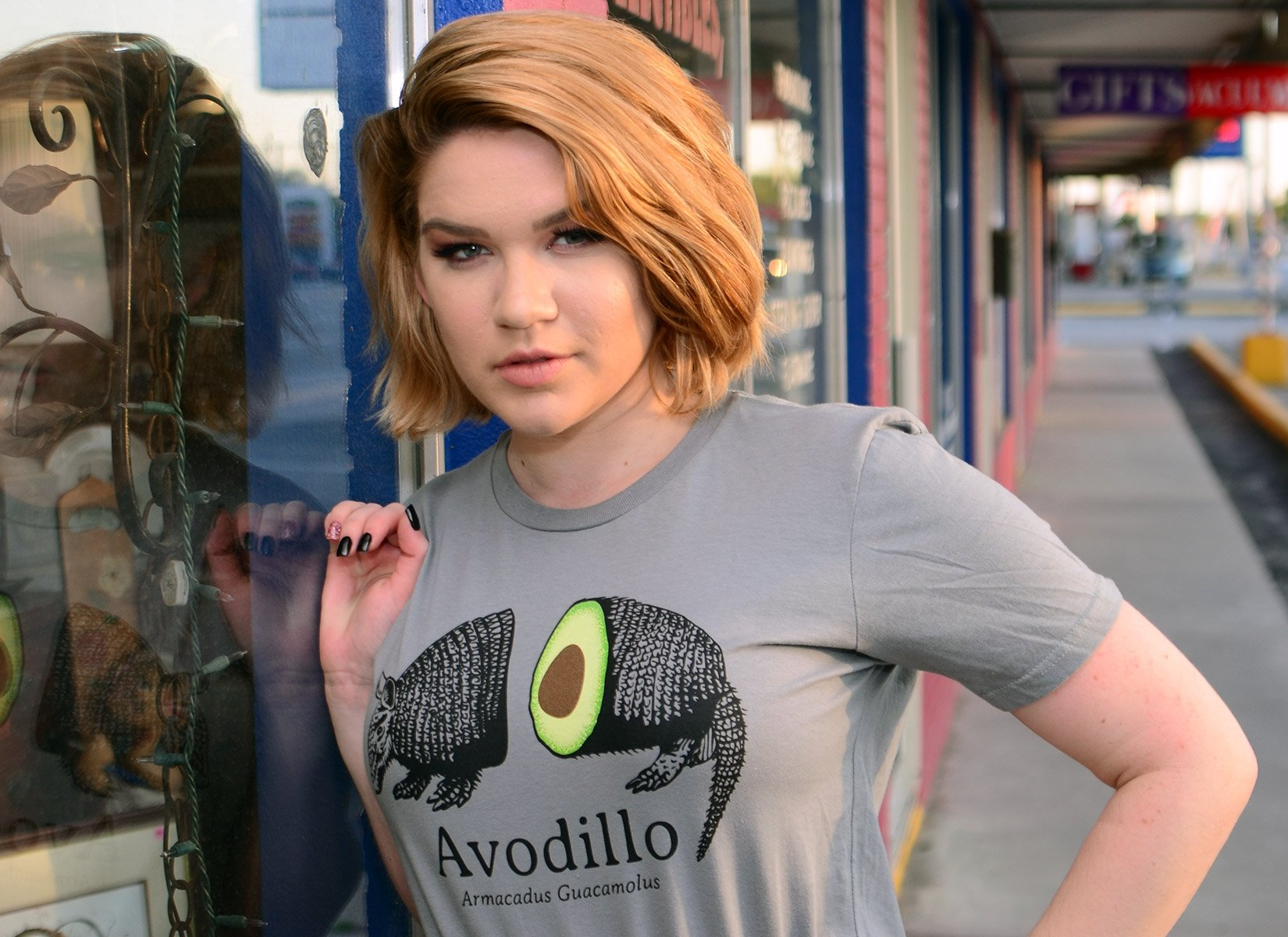 Avodillo on Womens T-Shirt