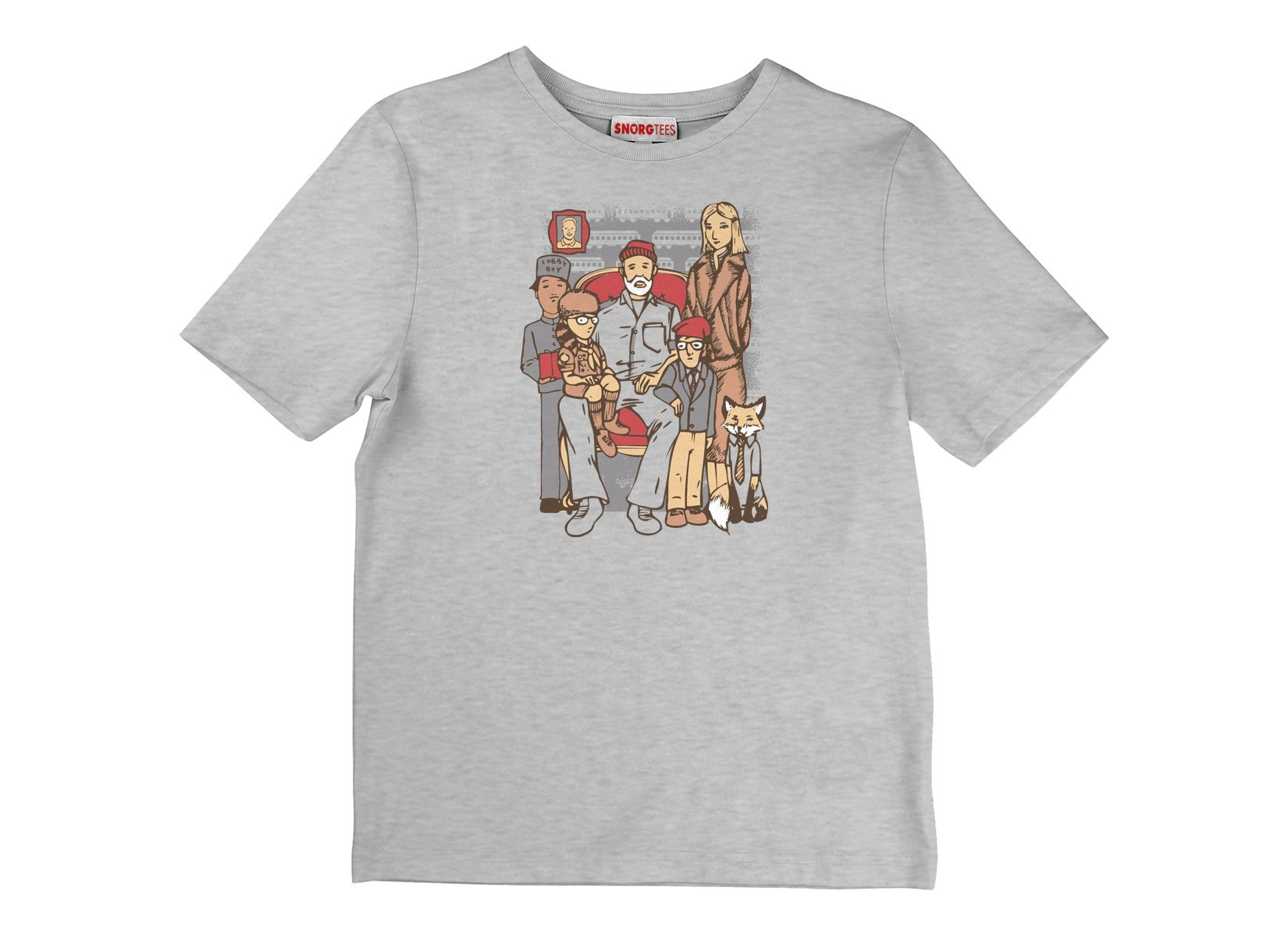 Anderson Family on Kids T-Shirt