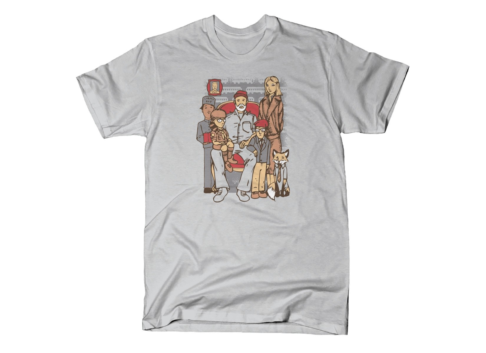 Anderson Family on Mens T-Shirt