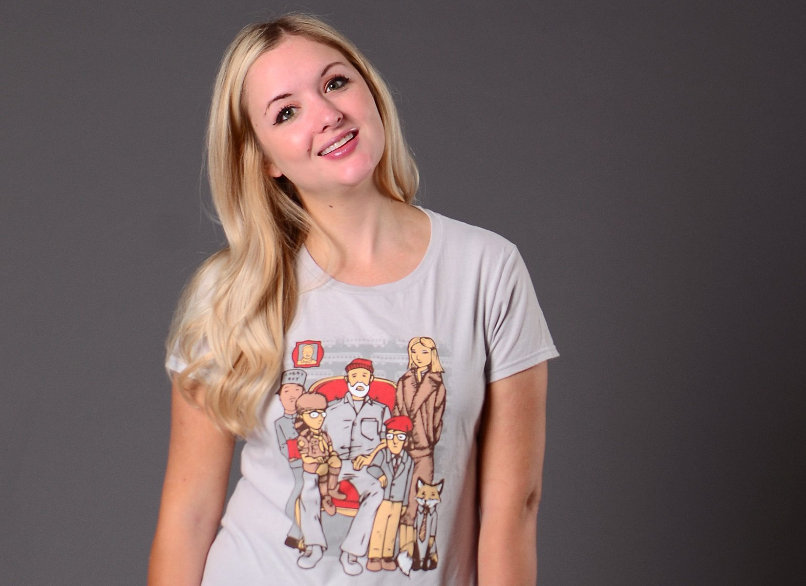 Anderson Family on Womens T-Shirt