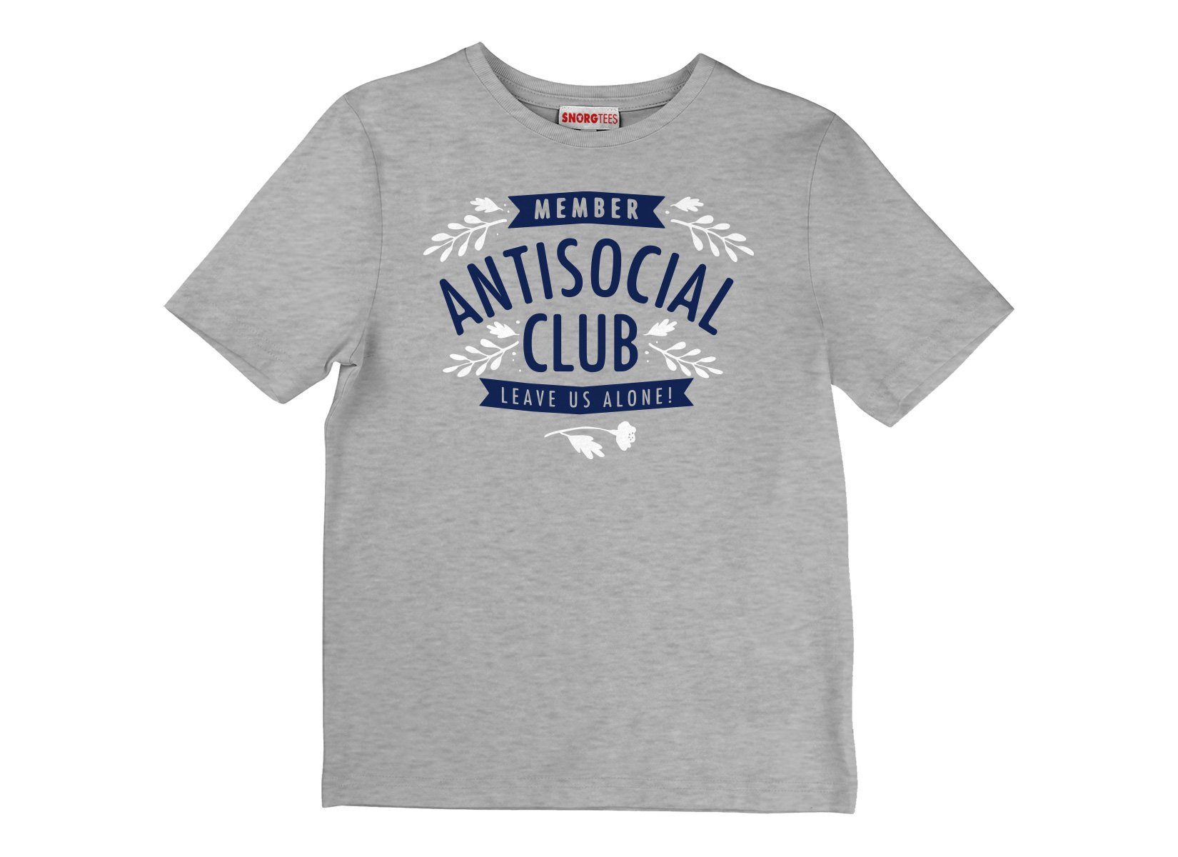 Antisocial Club on Kids T-Shirt