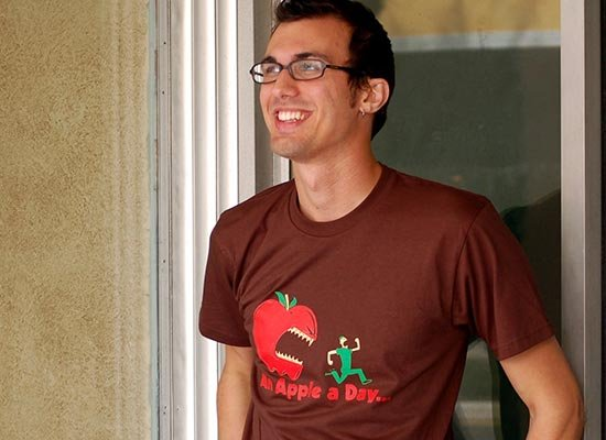 An Apple A Day... on Mens T-Shirt