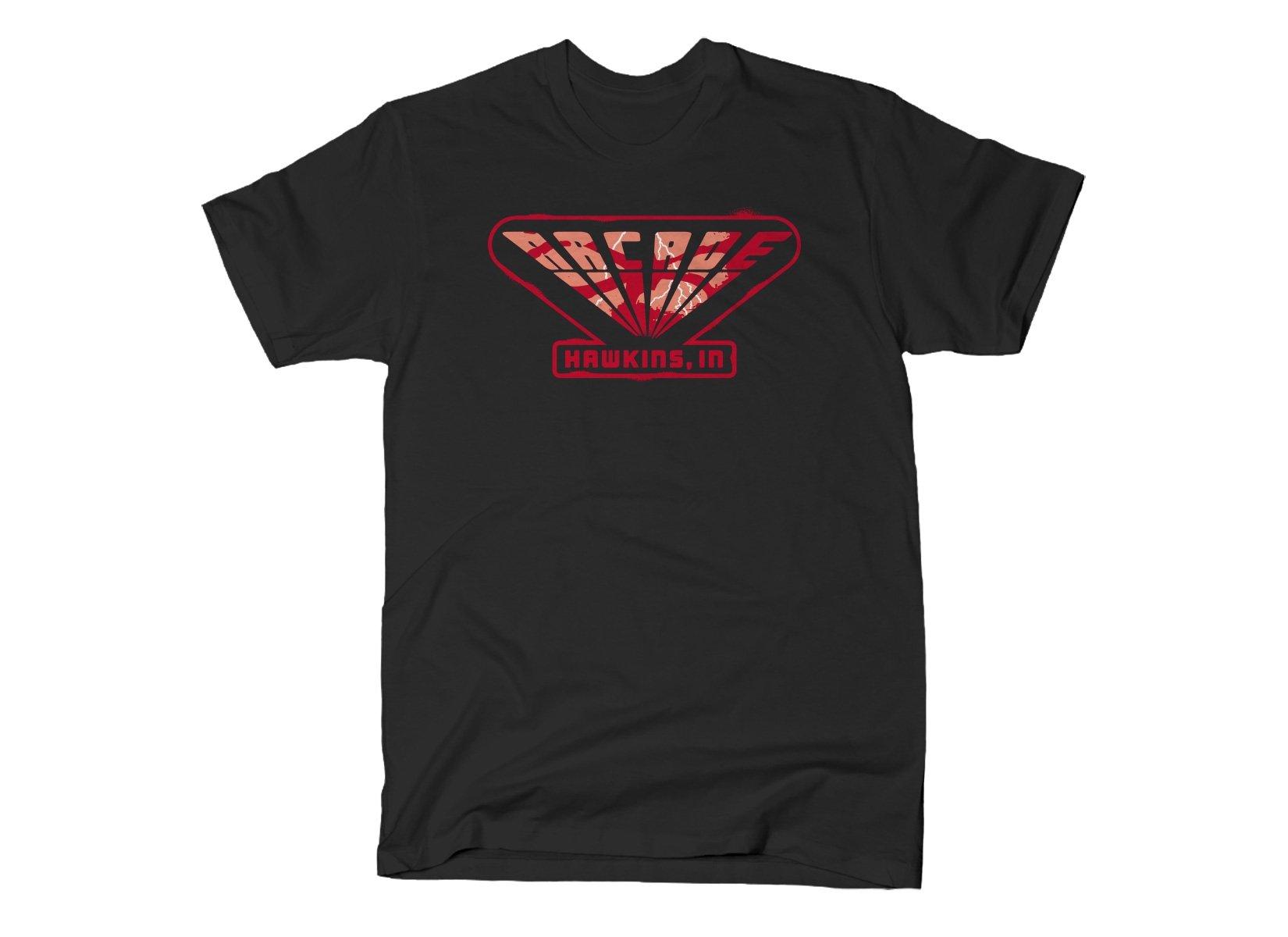 Arcade on Mens T-Shirt