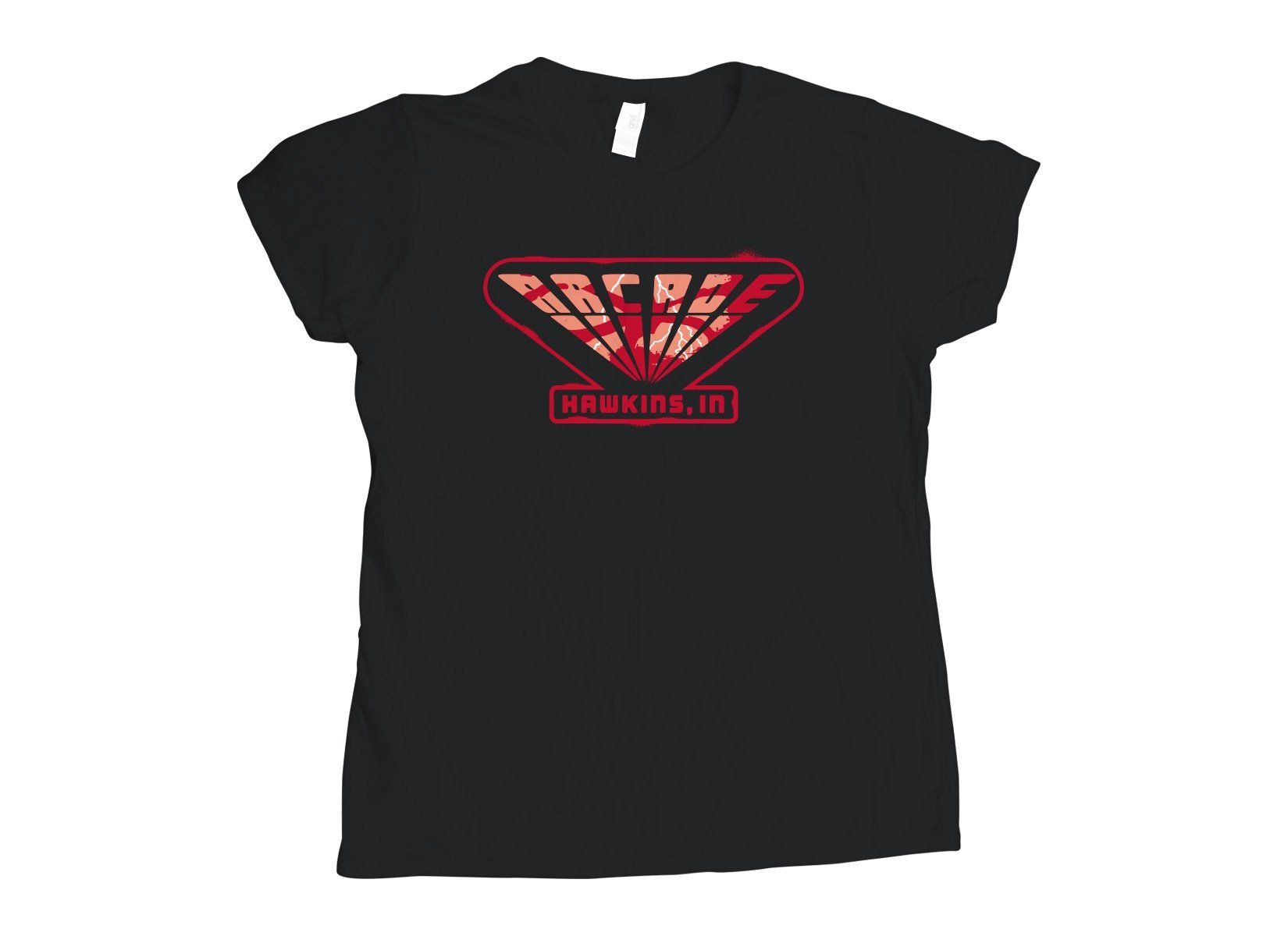 Arcade on Womens T-Shirt