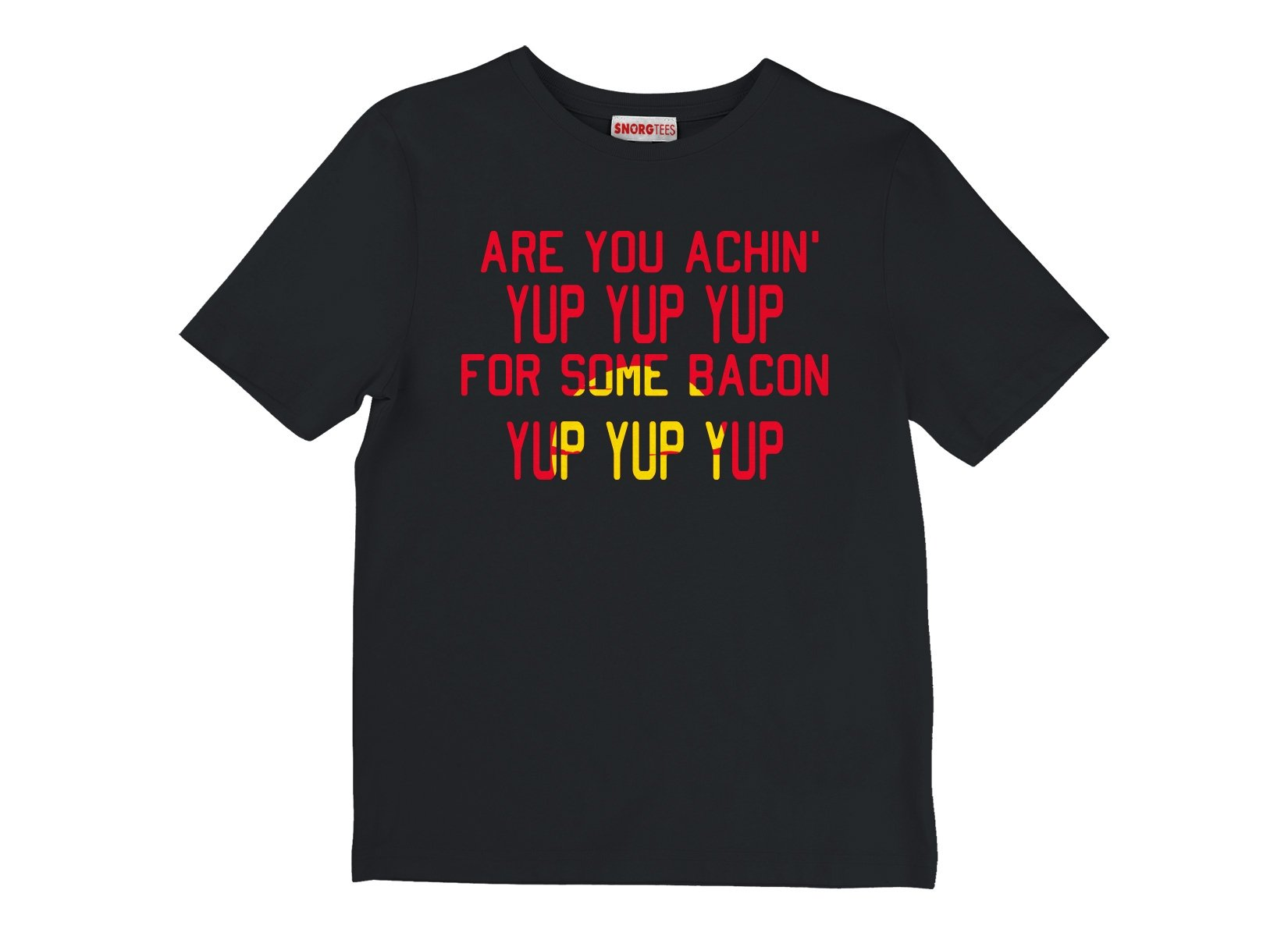 Are You Achin' For Some Bacon? on Kids T-Shirt