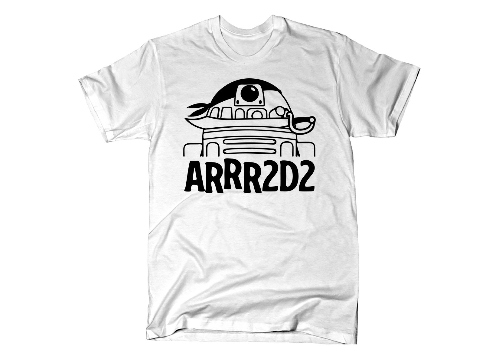ARRR2D2 on Mens T-Shirt