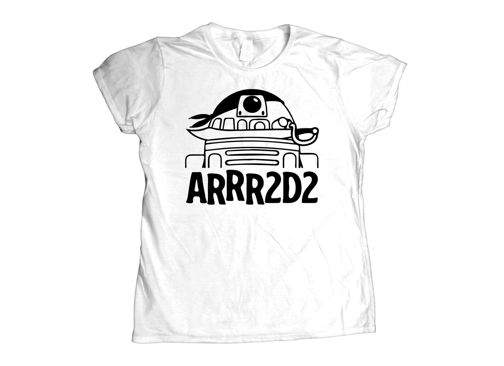 ARRR2D2 on Womens T-Shirt