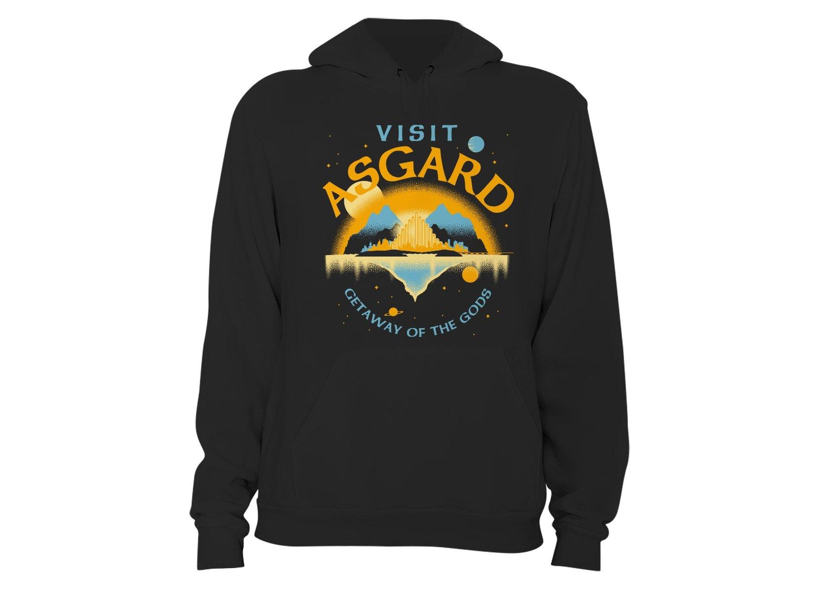 Visit Asgard on Hoodie