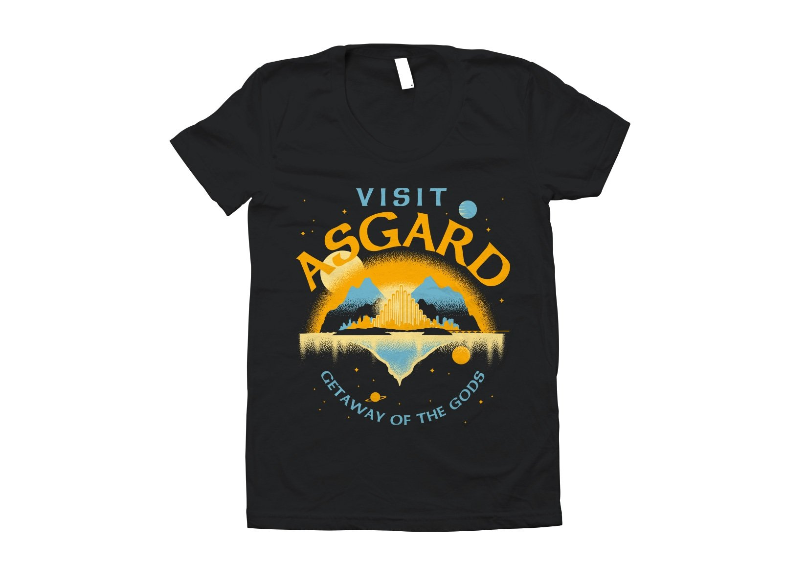 Visit Asgard on Juniors T-Shirt
