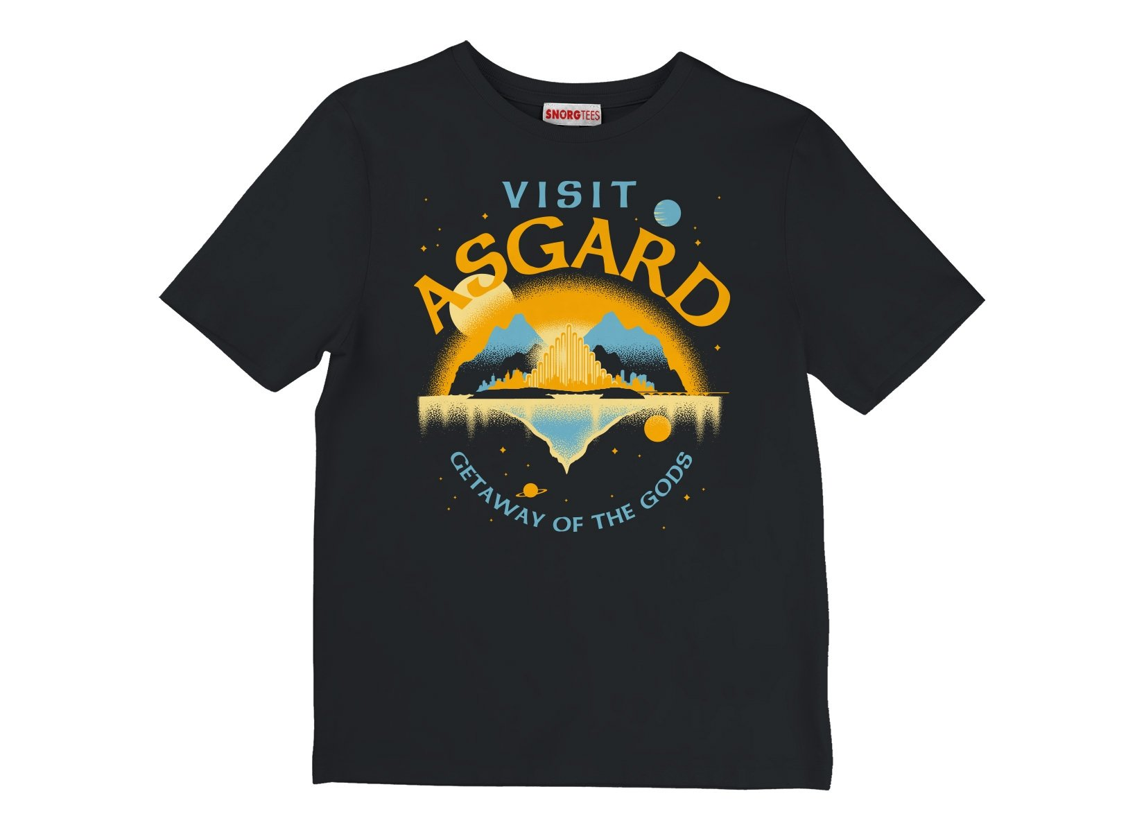 Visit Asgard on Kids T-Shirt