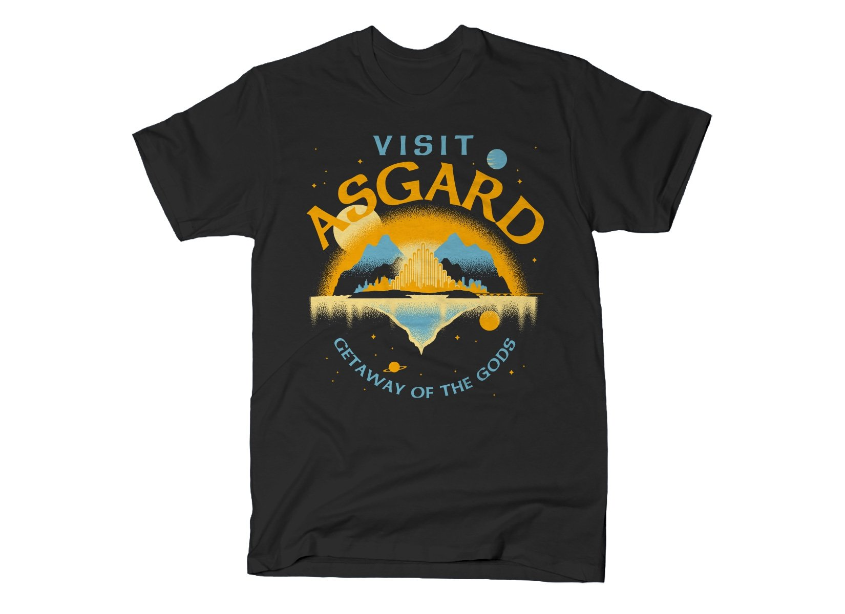 Visit Asgard on Mens T-Shirt